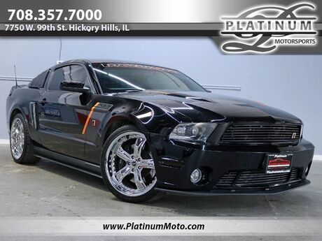 2012 Ford Mustang GT Rare Roush Stage 3 Supercharged #18 of 25 Leather Nav Loaded Hickory Hills IL