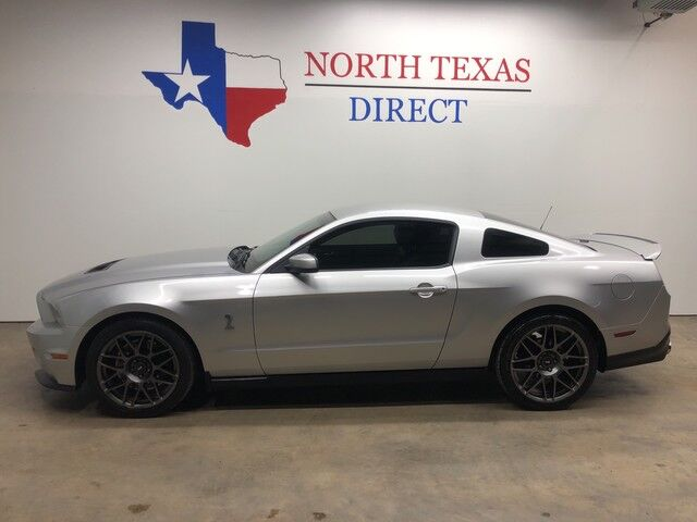 2012 Ford Mustang Shelby GT500 Supercharged Gps Navigation Shaker Sound Mansfield TX