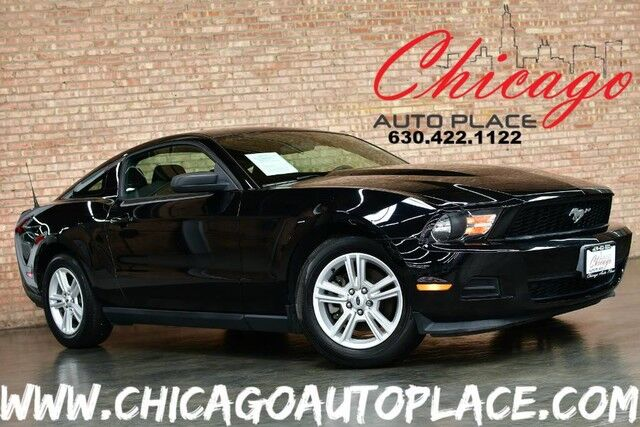 2012 Ford Mustang V6 - 3 7L TI-VCT V6 ENGINE 6 SPEED MANUAL BLACK CLOTH  SPORT SEATS CLIMATE CONTROL PREMIUM ALLOY WHEELS