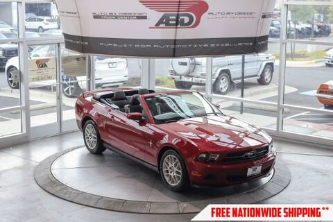2012_Ford_Mustang_V6 Convertible_ Chantilly VA