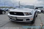 2012 Ford Mustang V6 / Coupe / Automatic / Aux Input / Aftermarket Exhaust / Cruise Control / 29 MPG