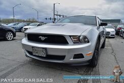 2012_Ford_Mustang_V6 / Coupe / Automatic / Aux Input / Aftermarket Exhaust / Cruise Control / 29 MPG_ Anchorage AK