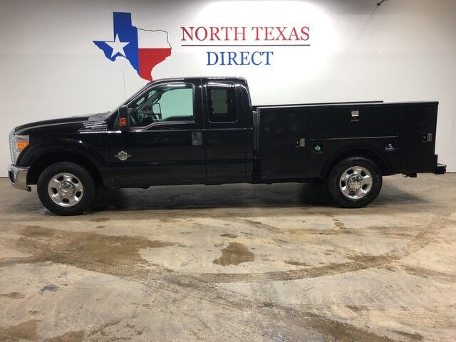 2012 Ford Super Duty F-250 SRW XLT Diesel Super Cab Utlity Bed With Tool Boxes Mansfield TX
