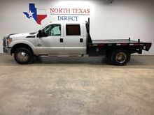 2012_Ford_Super Duty F-350 DRW_F350 Flatbed 6.7 Powerstroke Diesel Crew Cab Towing Pkg_ Mansfield TX