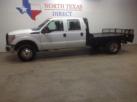 2012 Ford Super Duty F-350 DRW FREE HOME DELIVERY! F350 Dually 4x4 Crew Flat Bed Mansfield TX