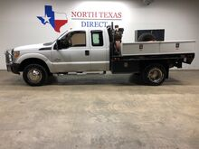 2012_Ford_Super Duty F-350 DRW_XL Turbo Diesel 4WD Flatbed Tool Boxes Ranch Hand_ Mansfield TX
