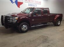 2012_Ford_Super Duty F-450 DRW_Lariat 4x4 Diesel Heated Leather Gps Navi Bluetooth Air Ride_ Mansfield TX