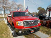 2012_GMC_SIERRA_1500 SLE CREW CAB 4X4, WARRANTY, Z71 OFF ROAD PKG, LEATHER, TOW PKG, RUNNING BOARDS, ONSTAR, A/C!!!!_ Norfolk VA