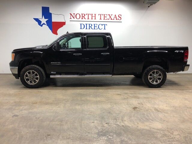 2012 GMC Sierra 2500HD SLE 4x4 Crew Diesel Long Bed Trailer Brake Allison Transmission Mansfield TX