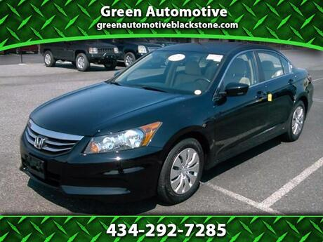 2012 Honda Accord LX Blackstone VA