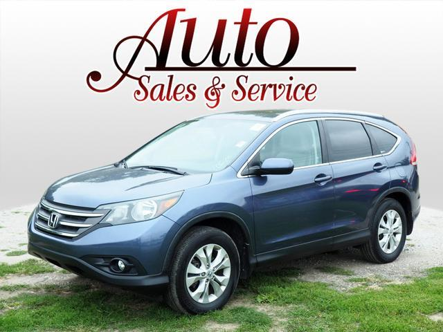 Used Cars Indianapolis >> 2012 Honda Cr V Ex L 4wd 5 Speed At