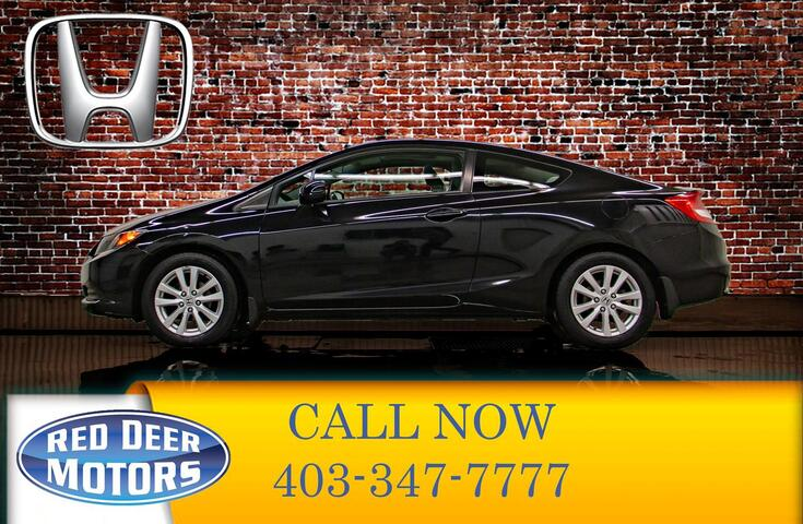 2012 Honda Civic 2 DR Coupe Red Deer AB
