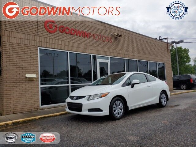 2012 Honda Civic Cpe LX Columbia SC