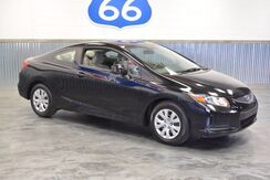 2012_Honda_Civic Cpe_LX SUPER LOW MILES! 36 MPG! 1 OWNER! 5 SPEED_ Norman OK