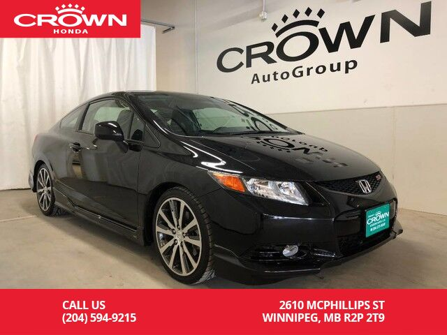 2012 honda civic cpe si coupe rare low km no accidents. Black Bedroom Furniture Sets. Home Design Ideas