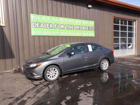 2012 Honda Civic EX-L Sedan 5-Speed AT Spokane Valley WA