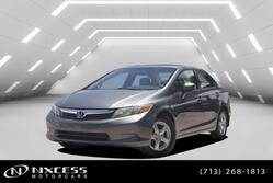Honda Civic Sdn CNG Auto Navigation Low Miles! Extra Clean! 2012