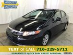 2012 Honda Civic Sedan LX w/Great MPG