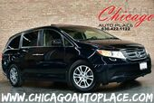 2012 Honda Odyssey EX-L - 3.5L I-VTEC V6 ENGINE FRONT WHEEL DRIVE BROWN LEATHER HEATED SEATS SUNROOF REAR TV/DVD 3RD ROW SEATS POWER LIFTGATE