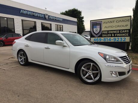 2012 Hyundai Equus Signature NAVIGATION REAR VIEW CAMERA, LEXICON AUDIO, HEATED ND COOLED LEATHER, SUNROOF, PARKING SENSORS!!! FULLY LOADED!!! EXTRA CLEAN!!! Plano TX