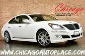 2012 Hyundai Equus Ultimate - 5.0L GDI V8 ENGINE 1 OWNER NAVIGATION BACKUP CAMERA KEYLESS GO BEIGE LEATHER HEATED/COOLED SEATS POWER RECLINING REAR SEATS SUNROOF XENONS PARKING SENSORS