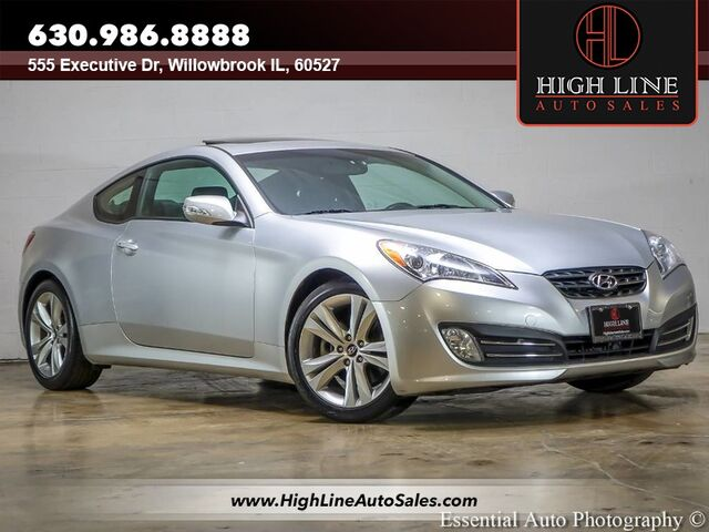 2012 Hyundai Genesis Coupe 3.8 Grand Touring Willowbrook IL