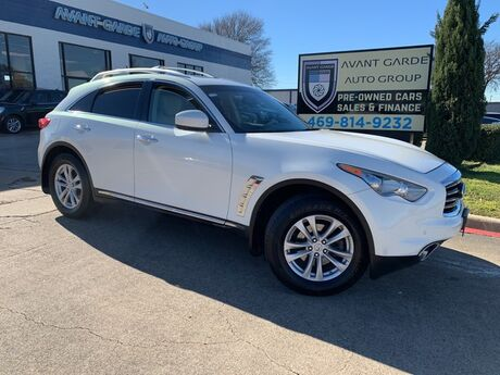 2012 INFINITI FX35 NAVIGATION REAR VIEW CAMERA, HEATED LEATHER, SUNROOF!!! LOADED AND EXTRA CLEAN!!! Plano TX