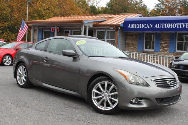 2012 INFINITI G37 Coupe Journey Mooresville NC