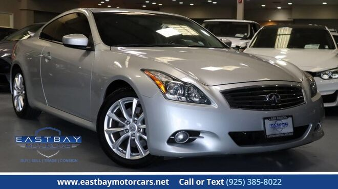 2012_INFINITI_G37 Coupe_Journey_ San Ramon CA