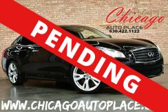 2012_INFINITI_M37_S - 3.7L V6 ENGINE NAVIGATION BACKUP CAMERA BLACK LEATHER HEATED/COOLED SEATS SUNROOF XENONS_ Bensenville IL