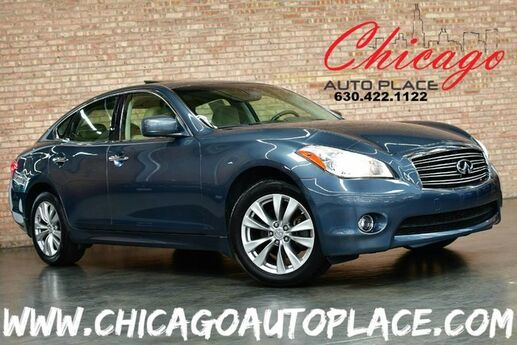 2012 INFINITI M37 X - 3.7L V6 ENGINE ALL WHEEL DRIVE 1 OWNER NAVIGATION BACKUP CAMERA TAN LEATHER HEATED/COOLED SEATS SUNROOF KEYLESS GO XENONS Bensenville IL