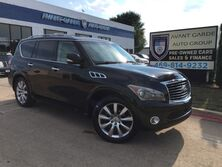 INFINITI QX56 4WD 8-passenger NAVIGATION, CAMERAS TECHNOLOGY, DELUXE TOURING, THEATER, 22 WHEEL PACKAGES!!! EVERY OPTION!!! ONE OWNER!!! 2012