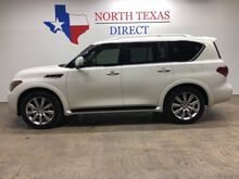 2012_INFINITI_QX56_Premium Luxury Technology Rear Entertainment Cameras Navi_ Mansfield TX