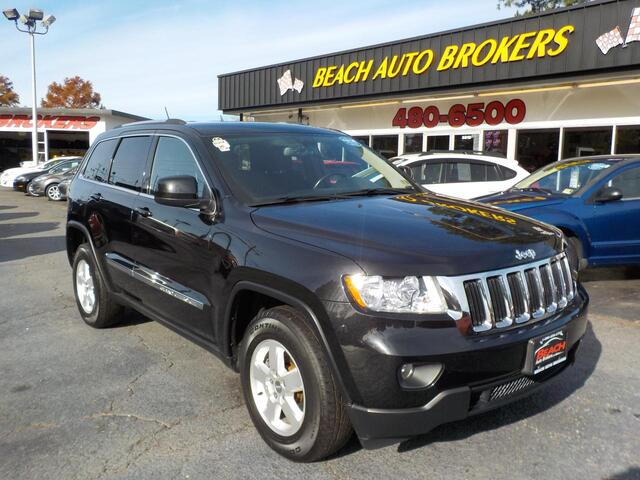 2012 JEEP GRAND CHEROKEE LAREDO 4X4, BUYBACK GUARANTEE, WARRANTY, SIRIUS RADIO, AUX PORT, BLUETOOTH, LOW MILES,CLEAN! Norfolk VA