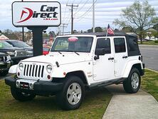 JEEP WRANGLER UNLIMITED SAHARA 4X4, ONE OWNER, ONLY 63K MI, RUNNING BOARDS, MINT!!! 2012