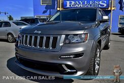 2012_Jeep_Grand Cherokee_SRT8 / 4X4 / 6.4L HEMI V8 / Heated & Ventilated Suede Seats / Heated Steering Wheel / Panoramic Sunroof / Navigation / Alpine Speakers / Blind Spot Assist / Adaptive Cruise Control / Bluetooth / Back Up Camera / Tow Pkg_ Anchorage AK