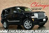 2012 Jeep Liberty Limited - 1 OWNER 3.7L V6 ENGINE 4 WHEEL DRIVE SKY SLIDER ROOF NAVIGATION BLACK LEATHER HEATED SEATS CHROME WHEELS