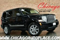 2012_Jeep_Liberty_Limited - 1 OWNER 3.7L V6 ENGINE 4 WHEEL DRIVE SKY SLIDER ROOF NAVIGATION BLACK LEATHER HEATED SEATS CHROME WHEELS_ Bensenville IL