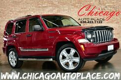 2012_Jeep_Liberty_Limited Jet - 3.7L V6 ENGINE 4 WHEEL DRIVE NAVIGATION BLACK LEATHER HEATED SEATS SUNROOF WOOD GRAIN INTERIOR TRIM_ Bensenville IL