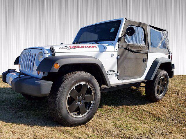 2012 Jeep Wrangler Sport Columbus GA