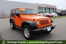 2012 Jeep Wrangler Sport South Burlington VT
