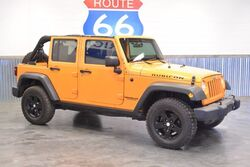 Jeep Wrangler Unlimited 1 OWNER! RUBICON 4WD! HARDTOP! LOADED! LIMITED EDT. COLOR! ONLY 53K MILES!!! AGGRESSIVE TIRES! 2012