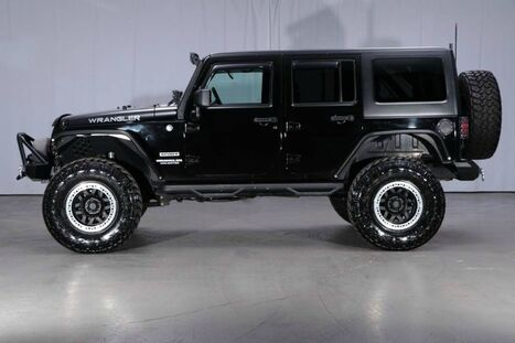 Jeep Wrangler Unlimited 4x4 Sport 2012