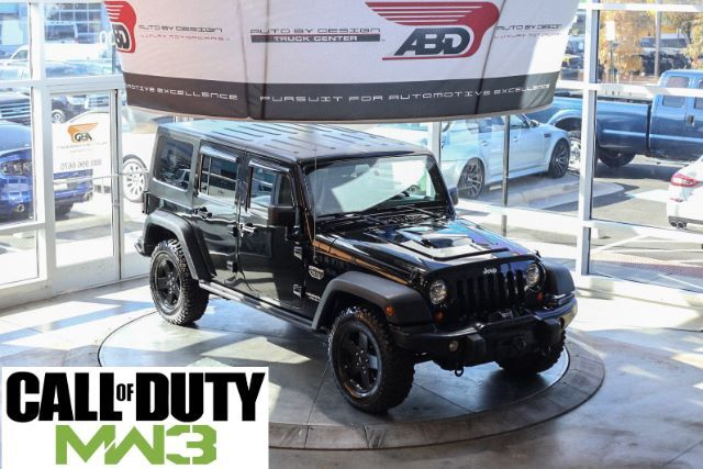 2012 Jeep Wrangler Unlimited Call of Duty MW3 Edition Chantilly VA