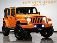 2012_Jeep_Wrangler Unlimited_Freedom Edition w/Navi 3 Blk Mnt Lift_ Bensenville IL