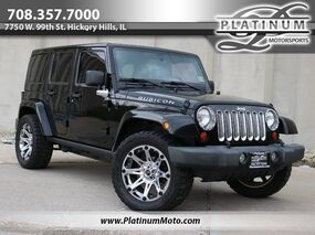 Jeep Wrangler Unlimited Rubicon Hardtop Leather Nav Auto 2012