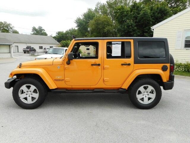 2012 Jeep Wrangler Unlimited Sahara Glenwood IA