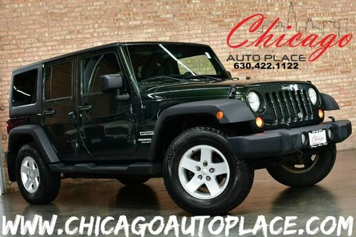 2012 Jeep Wrangler Unlimited Sport - 6 SPEED MANUAL 3.6L V6 ENGINE 4WD BLACK CLOTH BLUETOOTH CLIMATE CONTROL Bensenville IL