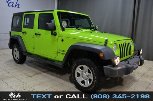 2012 Jeep Wrangler Unlimited Sport Hillside NJ