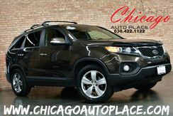 2012_Kia_Sorento_EX W/3RD ROW - 1 OWNER - LEATHER - SUNROOF - NAVI - BACK UP CAM - HEATED & COOLED SEATS_ Bensenville IL